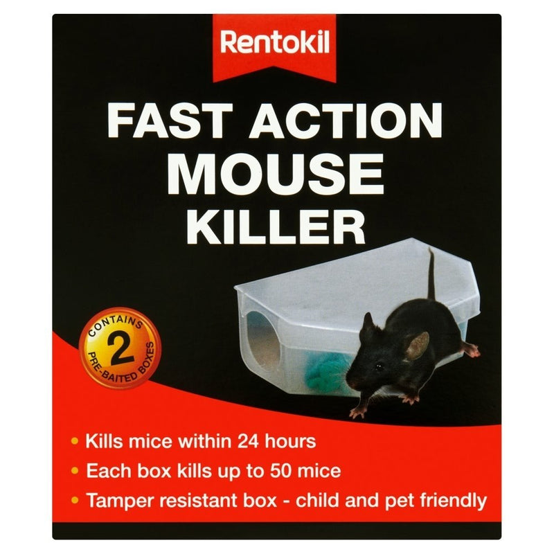 Fast Action Mouse Killer - Twin Pack