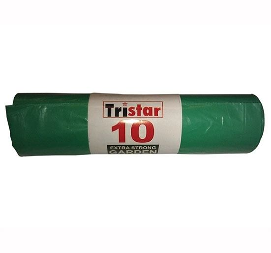 Extra Strong Green Garden Sack - 10 per Roll