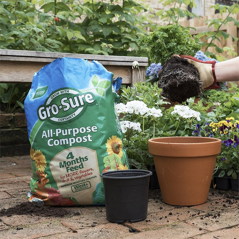 All-Purpose Compost Pouch & 4 Month Feed - 10L
