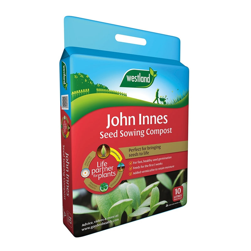 John Innes Seed Sowing Compost with Vermiculite - 10L
