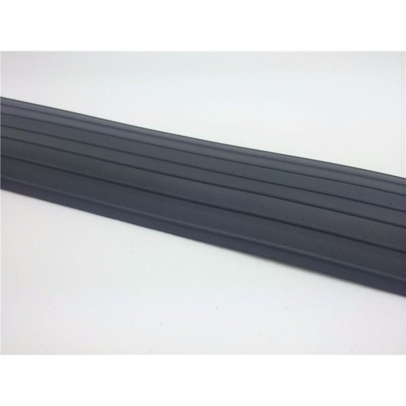67mm x 12mm Rubber Cable Floor Protector - 7m