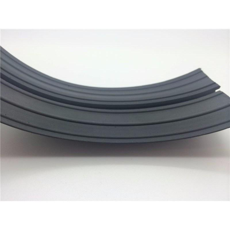 67mm x 12mm Rubber Cable Floor Protector - 3m
