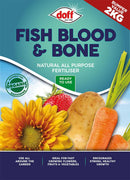 Fish Blood and Bone Granular Fertiliser - 2KG