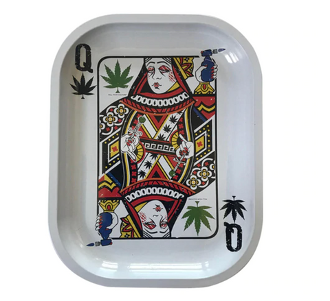"Kill Your Culture Rolling Tray 5.5"" x 7"" - Queen of Concentrates"