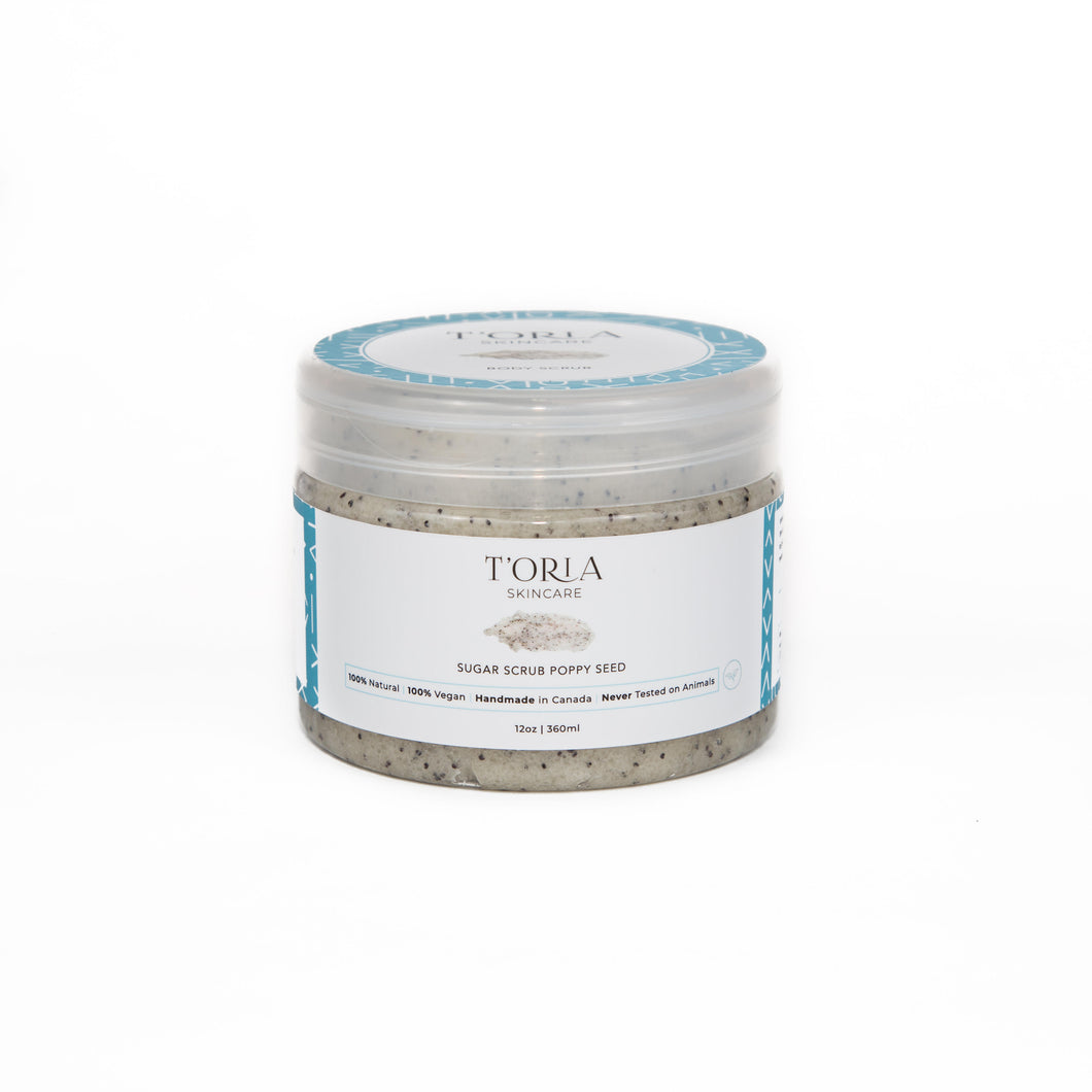 Sugar Scrub Poppy Seed