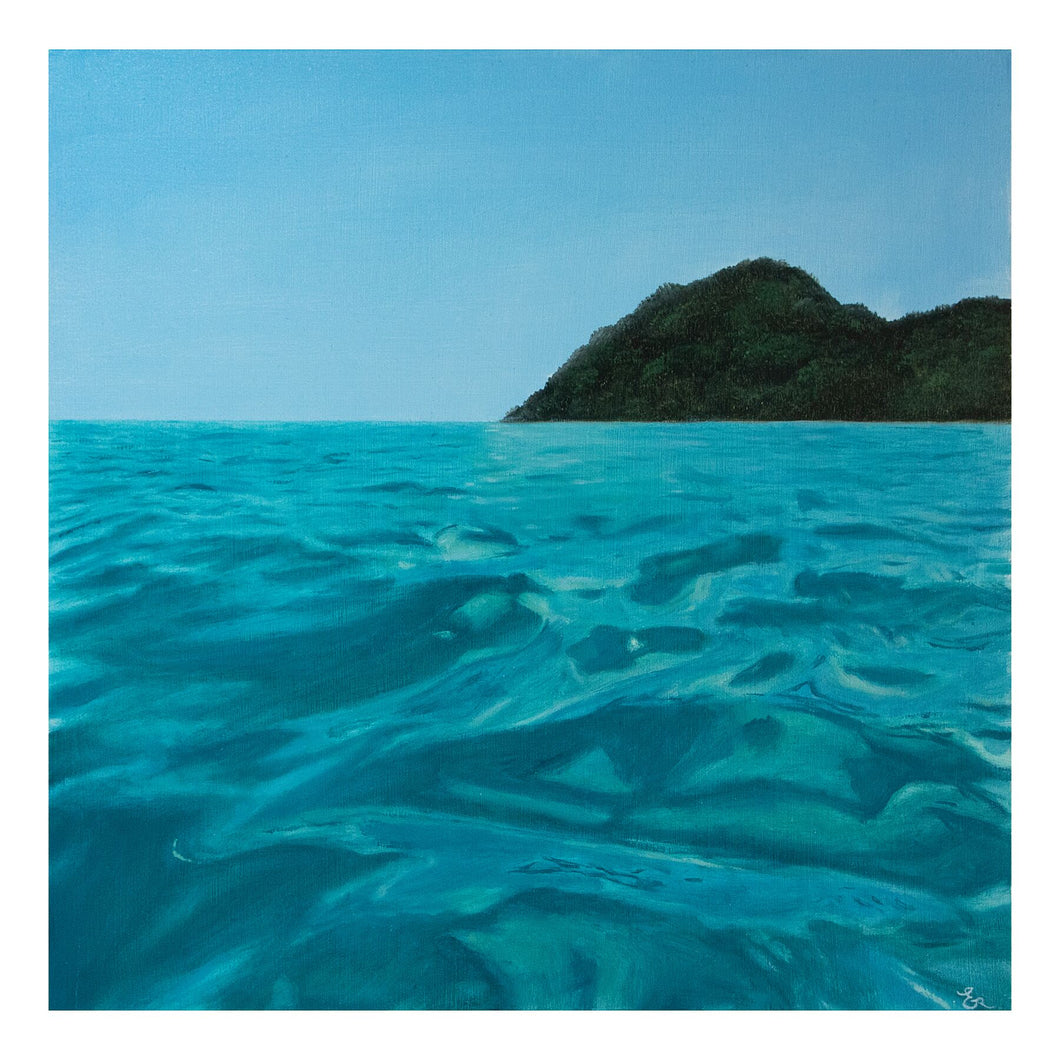 Into the Blue - Limited Edition Giclée Print