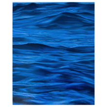 Load image into Gallery viewer, 'Ultramarine' - oil painting on wooden panel