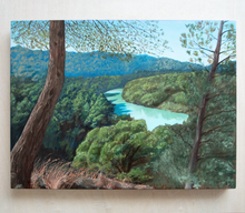 Load image into Gallery viewer, 'El Chorro' - oil painting on wooden panel