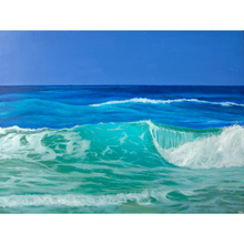 Load image into Gallery viewer, 'Atlantic' - oil painting on wooden panel