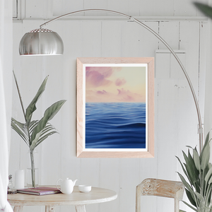 Pastel Sunset - Limited Edition Giclée Print