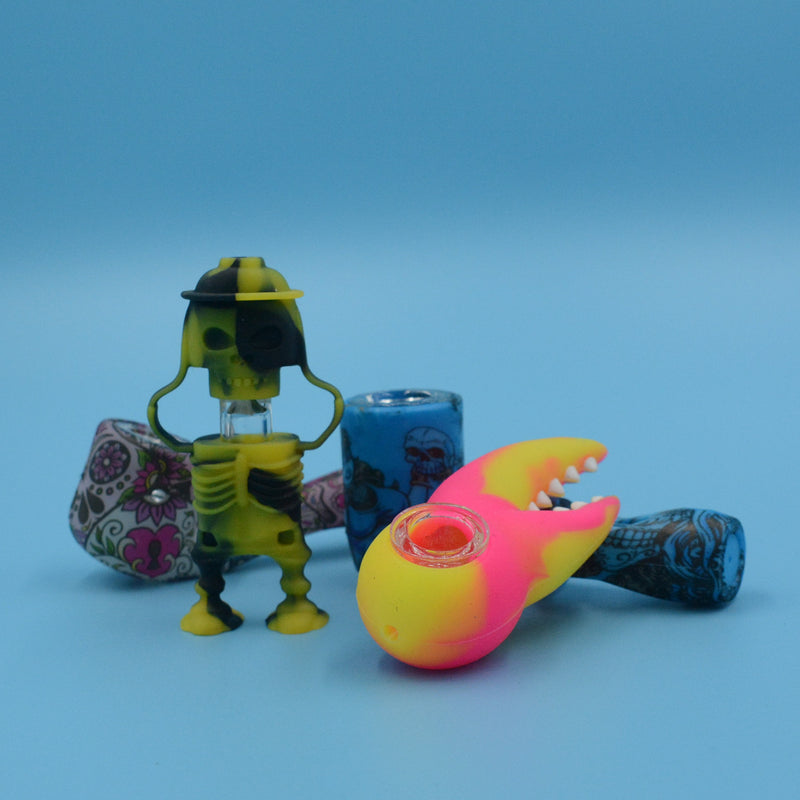 Assorted Silicone Handpipes