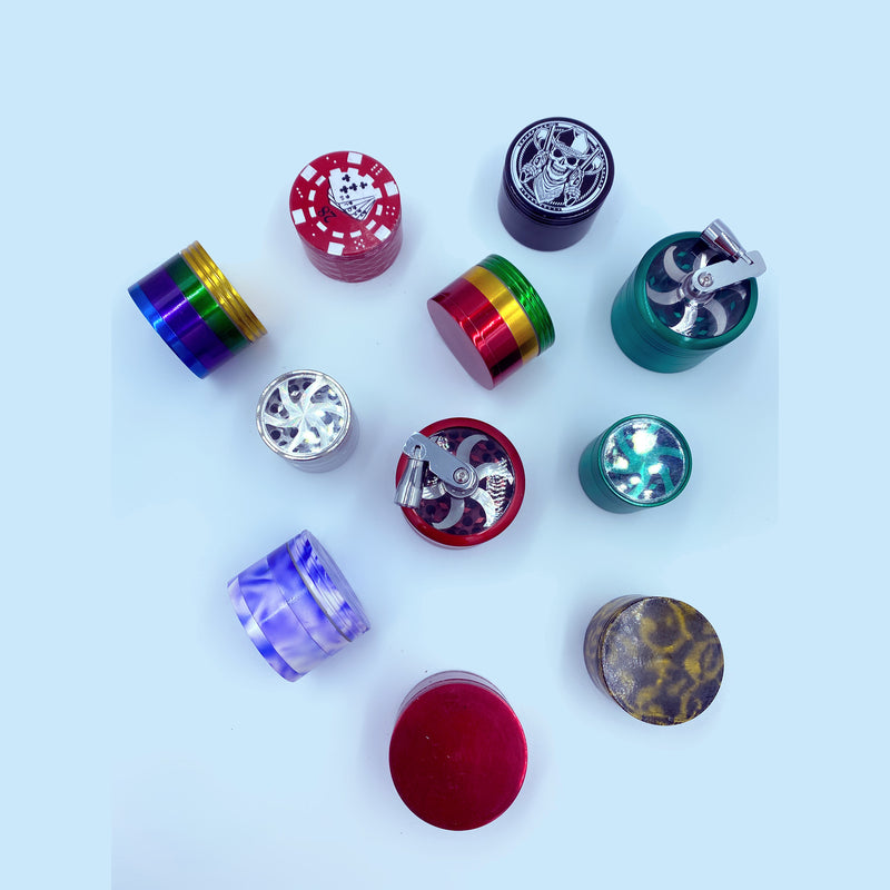 Mixed 40mm Grinders