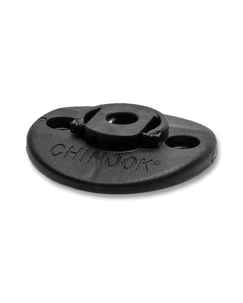 Chinook 2 Bolt Base Plate and Clip Only