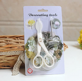 Piping Flower Scissors Nail