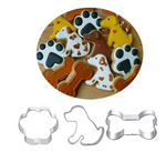 3pcs Cookie Cutter Pet