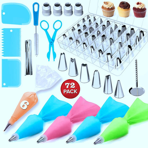 72pcs Cake Decorating Set