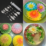 3D Jelly Flower Decorating Tools