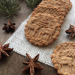 3D Christmas Embossing Rolling Pin