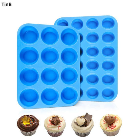 12/24 Holes Cupcake Molds