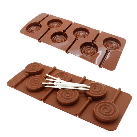 Lollipop chocolate mould