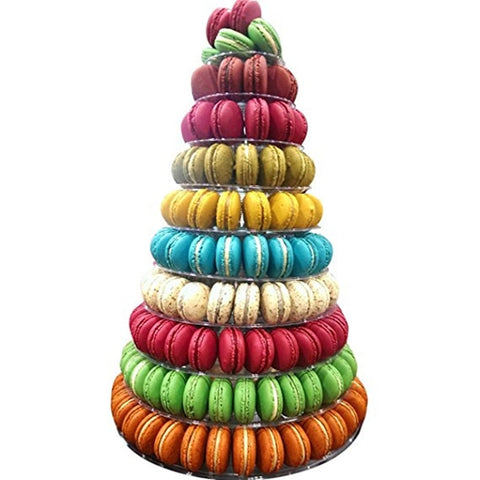 10 Tier Tower Macaron Display