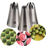 3 Pcs/Set Russian Piping Tips