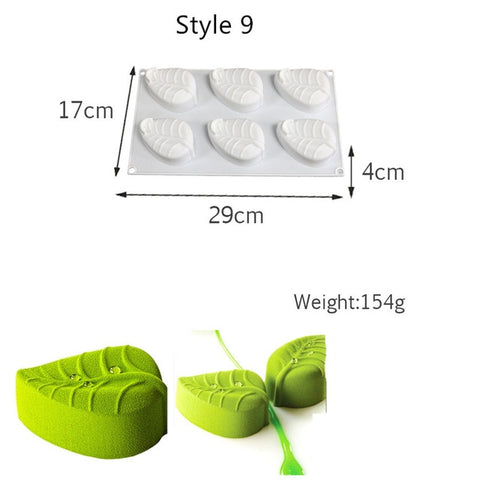 Cake Mold 3D
