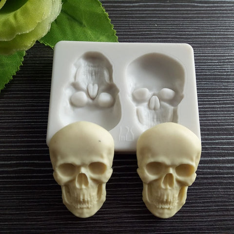 3D Skeleton Head Skull