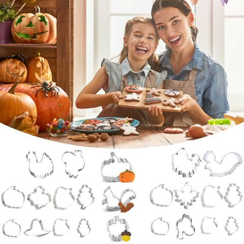 Thanksgiving Cookie Cutter Set
