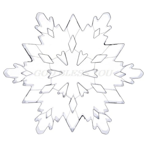 3D Christmas Snowflake Cookie Cutter