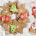 5Pcs/Set Christmas Snowflake Molds