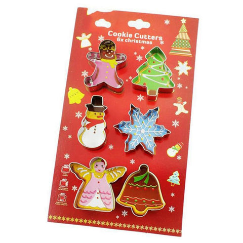 6pcs/set Christmas Cookie Cutter