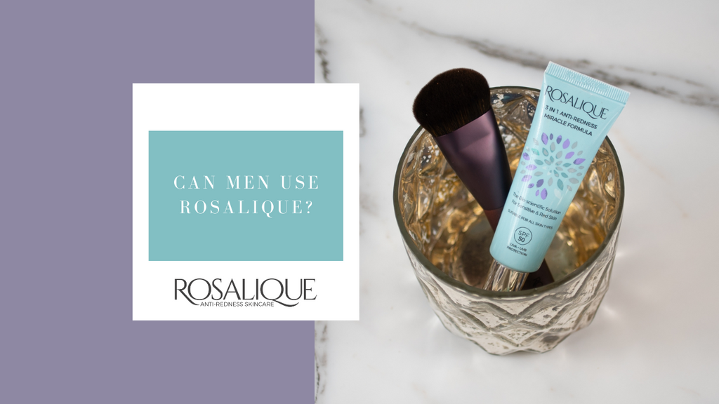 Can men use Rosalique?