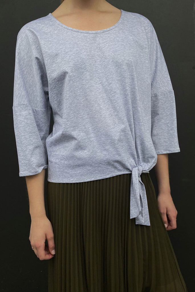 Cloud Tie Top Plain