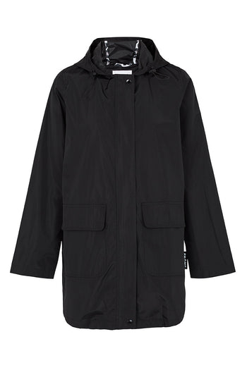 Anyday 3/4 Raincoat - Black