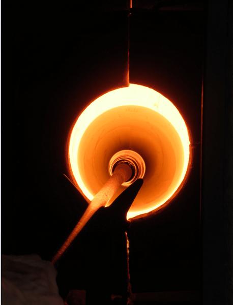 Armel Desrues glass blowing art