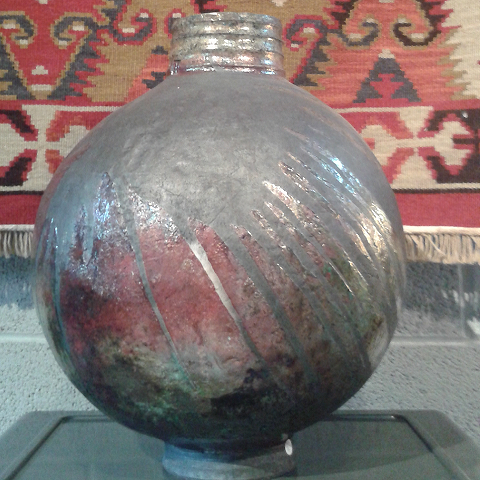 Raku by Malcolm Turner at Workhouse Gallery Presteigne