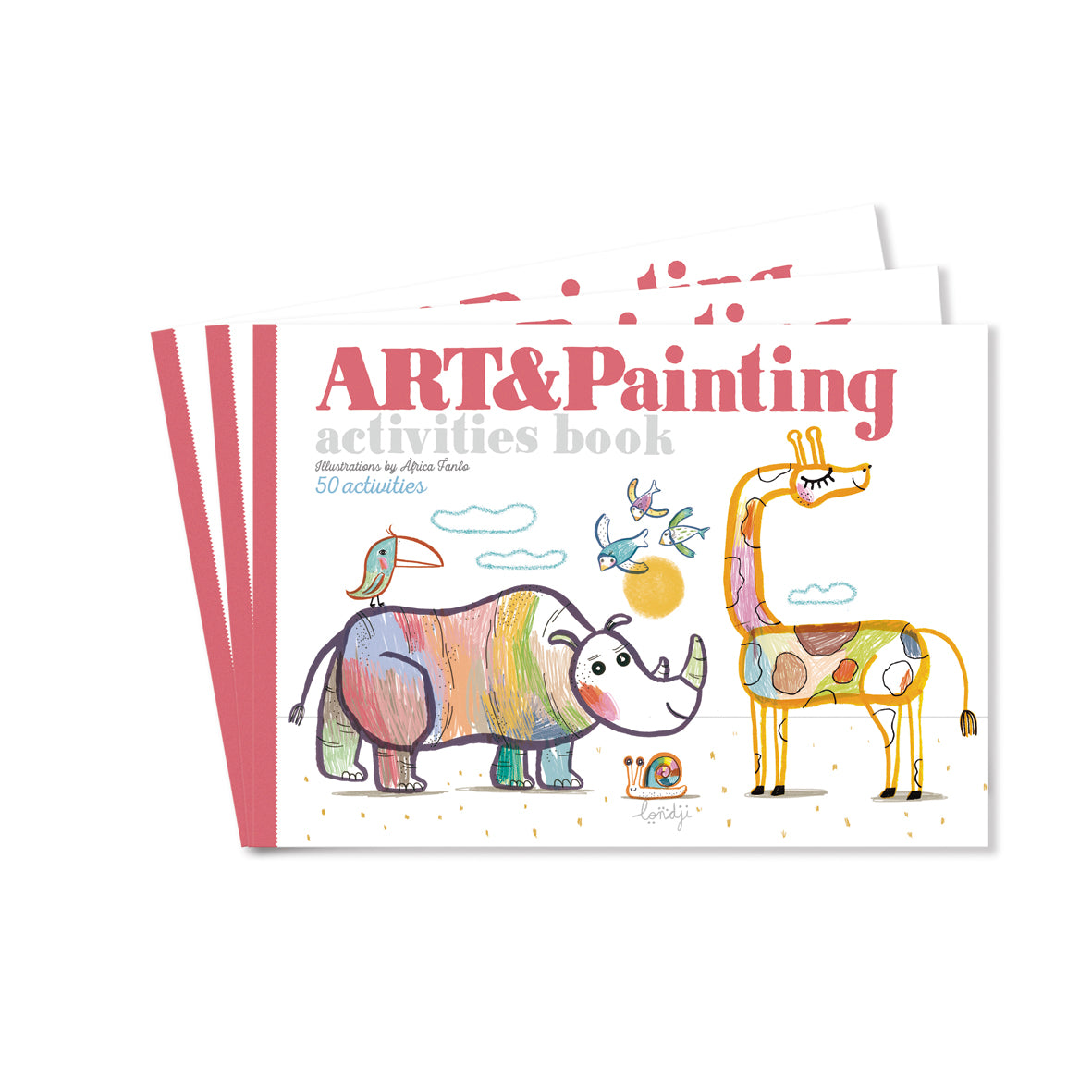 Art and Painting activity book