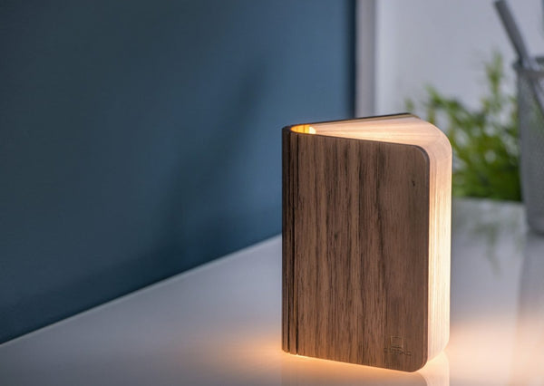 Walnut Smart Book Light