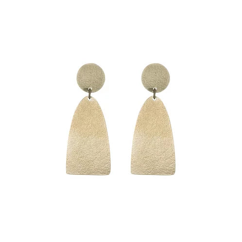 Fringe long stud earrings
