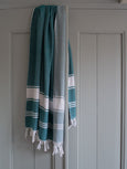 Hand Loomed Honeycomb Hammam Towel