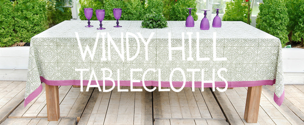 Windy Hill Tablecloths