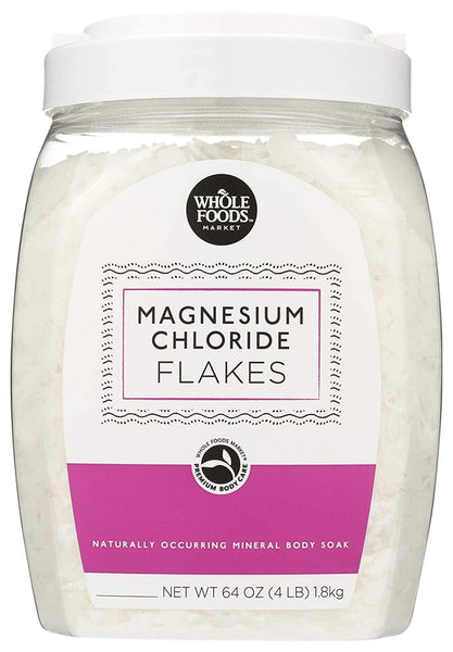 Whole Foods Market, Magnesium Chloride, Flakes, 64 oz
