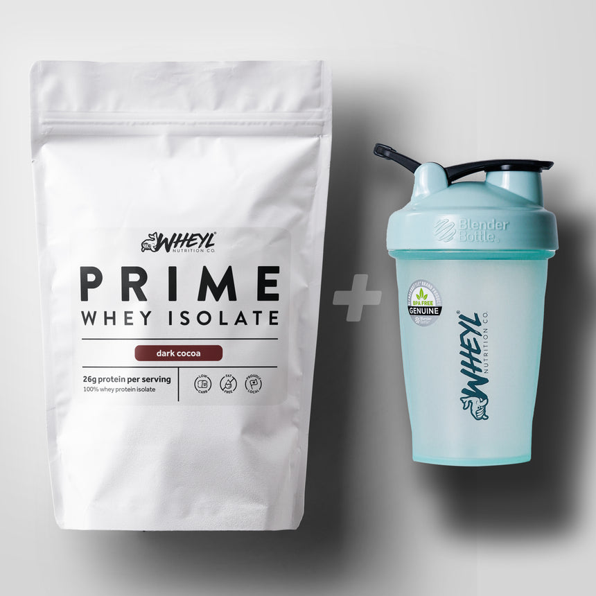 JUST whey protein + REEF BlenderBottle® bundle