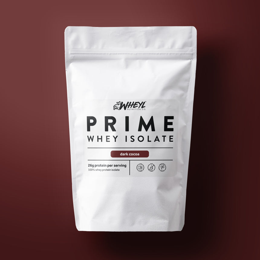 PRIME Dark Cocoa whey isolate