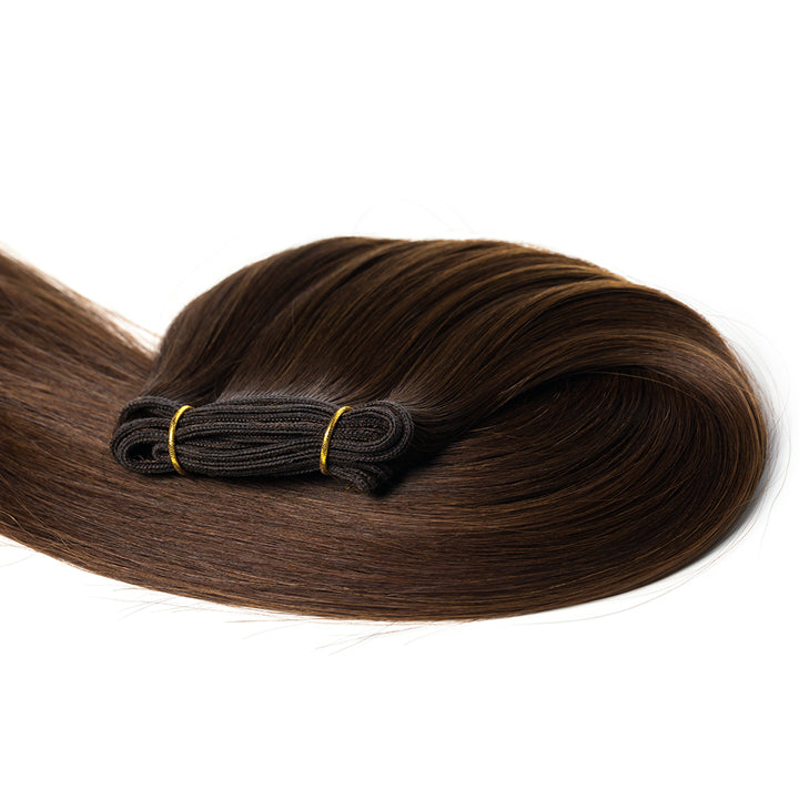 "20"" Weft Human Hair Extensions (No Clips)"