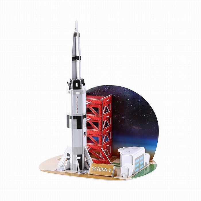 3D Saturn V Puzzle