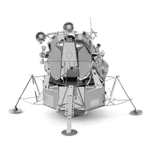 Metal Apollo Lander Puzzle