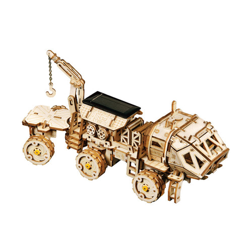 Solar Wooden The Martian Rover