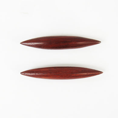 Red Wood Septum Spikes